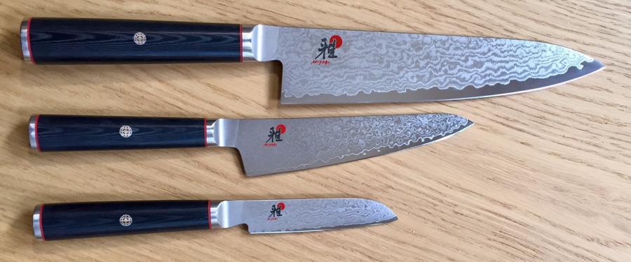 set de 3 couteaux de cuisine japonais miyabi 5000dp. Black Bedroom Furniture Sets. Home Design Ideas