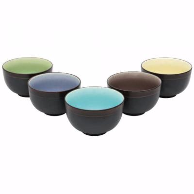 LOT DE 5 TASSES A THE JAPONAISE SENCHA